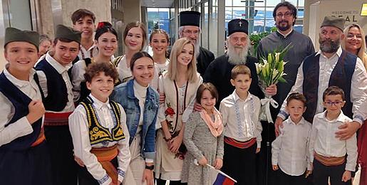 Le patriarche de Serbie Irénée effectue une visite pastorale aux États-Unis