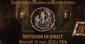 Diffusions quotidiennes en direct des célébrations orthodoxes du Grand Carême