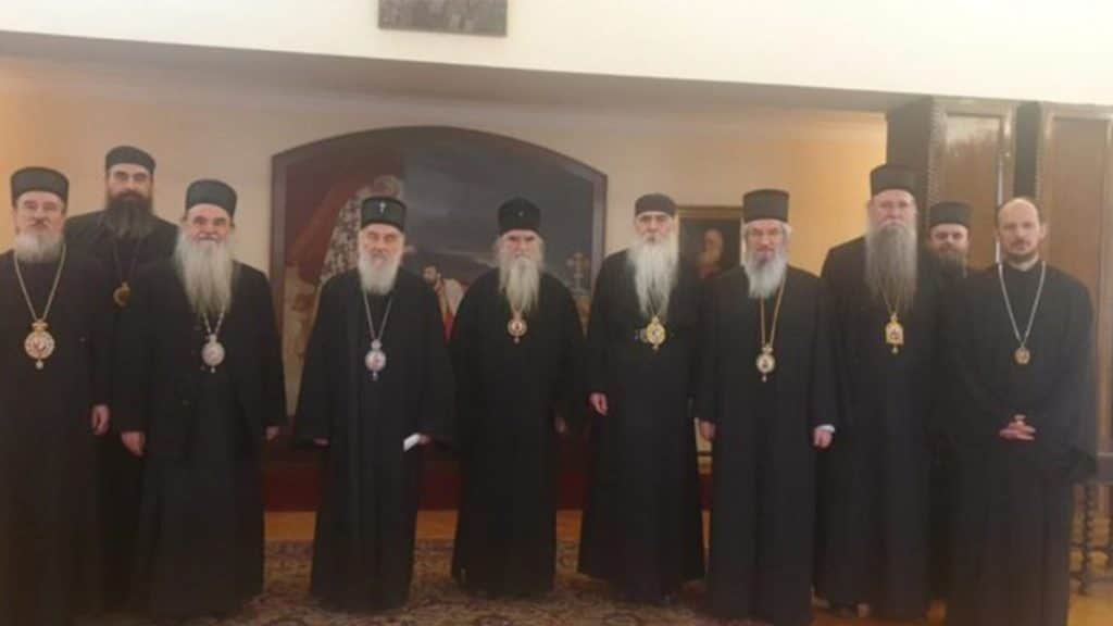 Communique of the Holy Synod of Bishops of the Serbian Orthodox Church