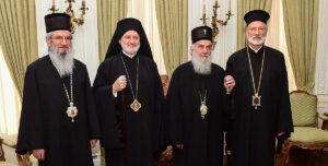 Le patriarche de Serbie Irénée a rencontré à New York l'archevêque grec d'Amérique Elpidophore