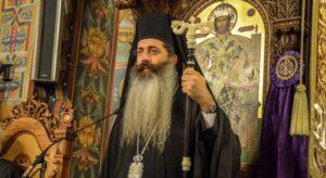 Le métropolite de Fthiotida a déclaré avec conviction qu'il recevrait la sainte communion immédiatement après un patient infecté par un coronavirus