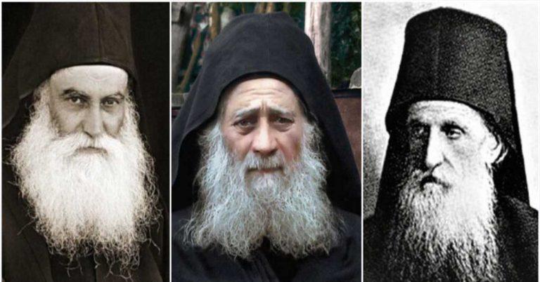 Los tres santos canonizados