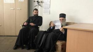 Le métropolite du Monténégro Amphiloque a été conduit au commissariat de police de Podgorica pour y être auditionné