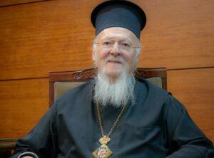Entretien avec le patriarche Bartholomée concernant la crise du Covid-19