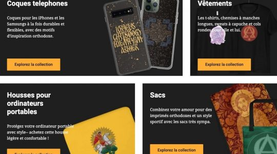 Visite Orthodoxie.com for your Easter gifts!
