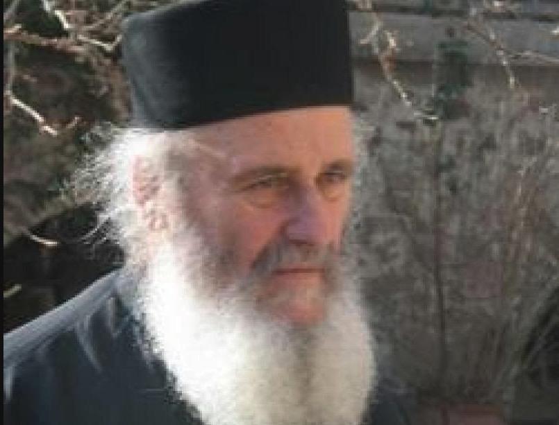Archimandrite Basile (Gondikakis) – Homélie lors du repas pascal (monastère d'Iviron, 2020)