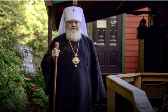 Appeal of the First Hierarch to the God-Loving Flock, in Connection with the Coronavirus Pandemic