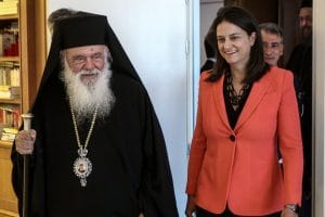 Dans une lettre au ton inhabituel, l'archevêque d'Athènes Jérôme demande la réouverture des églises en Grèce