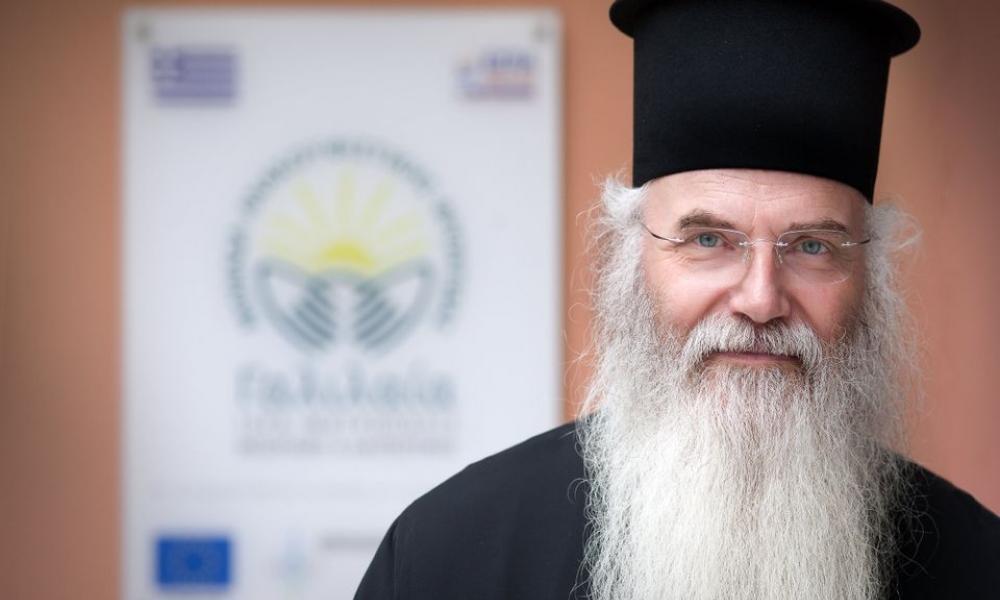 Le métropolite de Mésogée et Laurentie Nicolas (Église de Grèce) : « L'État soviétique n'avait pas interdit les offices, notre gouvernement l'a fait !)