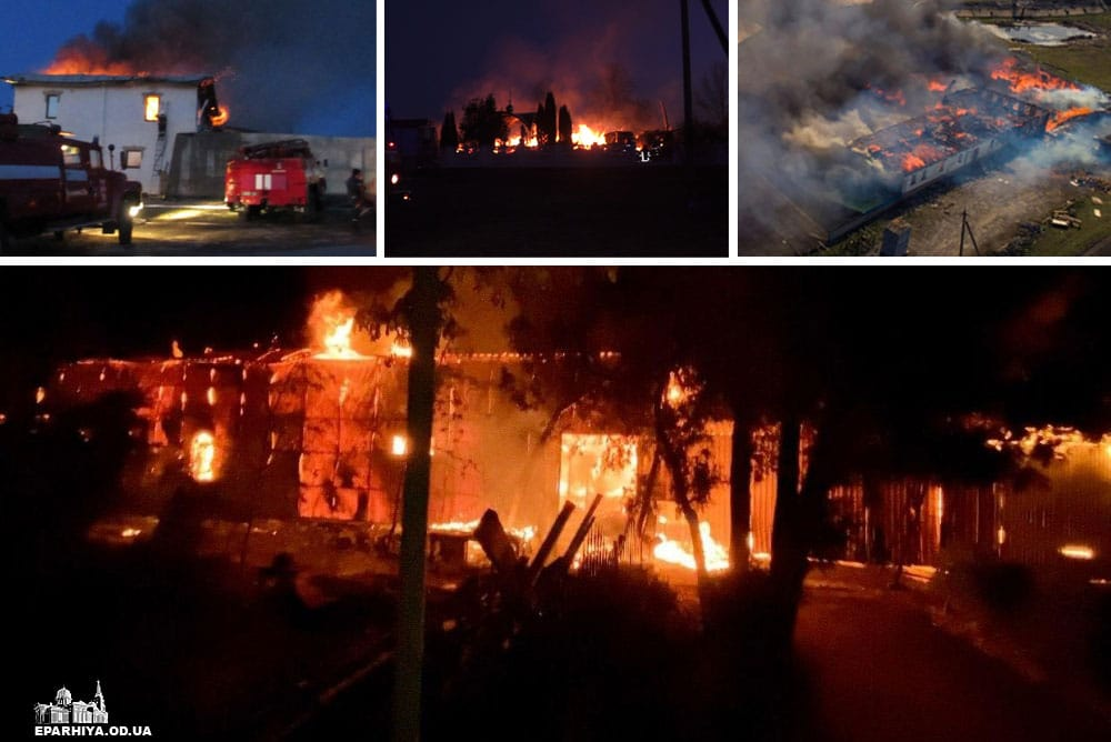 Des incendies criminels ont frappé quatre monastères de l'Église orthodoxe ukrainienne au cours des deux dernières semaines