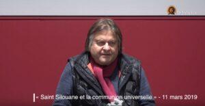 Vidéo gratuite : « Saint Silouane et la communion universelle » par Bertrand Vergely