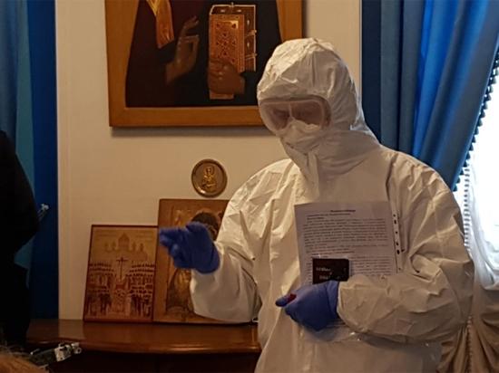 Interview d'un prêtre de Moscou qui est chargé de la pastorale des malades du coronavirus
