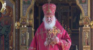 Le patriarche de Moscou Cyrille a qualifié de « paroles les plus difficiles » de sa vie son appel aux fidèles à ne pas fréquenter les églises en raison du coronavirus
