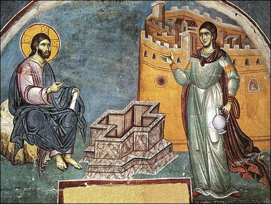 Homélie du père Placide (Deseille) pour le dimanche de la Samaritaine