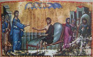 Homélie du père Placide (Deseille) pour le dimanche du Paralytique