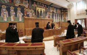 Communiqué de presse du Saint-Synode permanent de l'Église orthodoxe de Grèce au sujet des mesures de restrictions du coronavirus