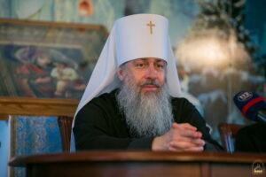 « Dans le conflit au Donbass, l'Église orthodoxe ukrainienne était et reste la Mère qui unit » a déclaré le métropolite de Sviatogorsk Arsène