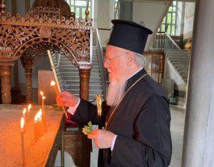 Le patriarche œcuménique Bartholomée a reçu de nombreuses félicitations à l'occasion de sa fête onomastique