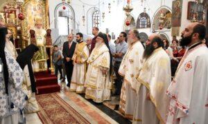 Homélie à l'occasion de la fête de tous les saints de Palestine à Bethléem