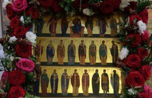 De nombreux saints ont vécu en France et constituent pour nous de brillants exemples, a déclaré le métropolite Emmanuel