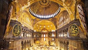 Hürriyet : « Que deviendront les fresques de Sainte-Sophie ? »