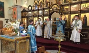 «Le jour anniversaire du décès du métropolite Nicodème (Rotov), les paroisses patriarcales aux États-Unis ont commémoré le 50e anniversaire de leur fondation»