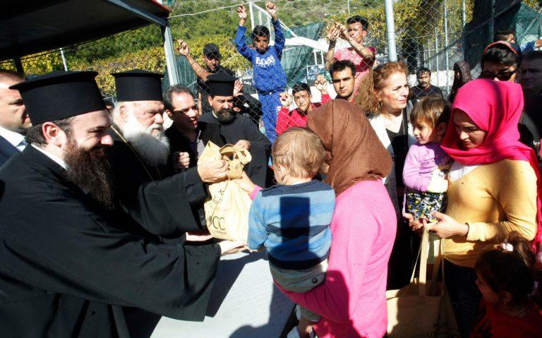 L'accueil de l'étranger fait partie intégrante de l'héritage chrétien, déclare l'archevêque Jérôme d'Athènes