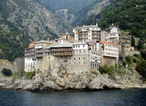 Nouvelles restrictions à l'entrée sur le Mont Athos en raison du coronavirus