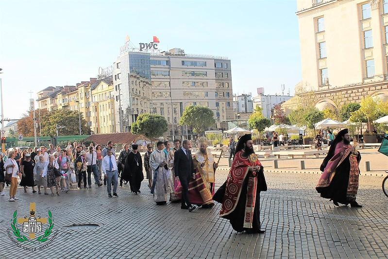 Les reliques de saint Clément, pape de Rome et de saint Potit de Serdica sont accueillies solennellement à Sofia