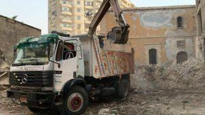 Les travaux de restauration de l'église orthodoxe Saint-Georges de Suez ont commencé