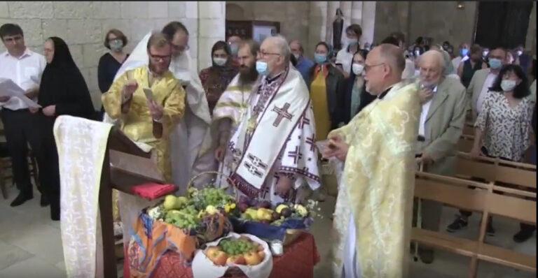 Compte rendu : la fête de la Transfiguration à Talmont-sur-Gironde