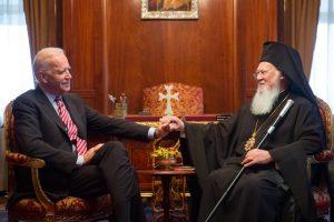Joe Biden soutient indéfectiblement Constantinople en tant que « centre de l'Église orthodoxe grecque », selon un communiqué de presse de campagne électorale