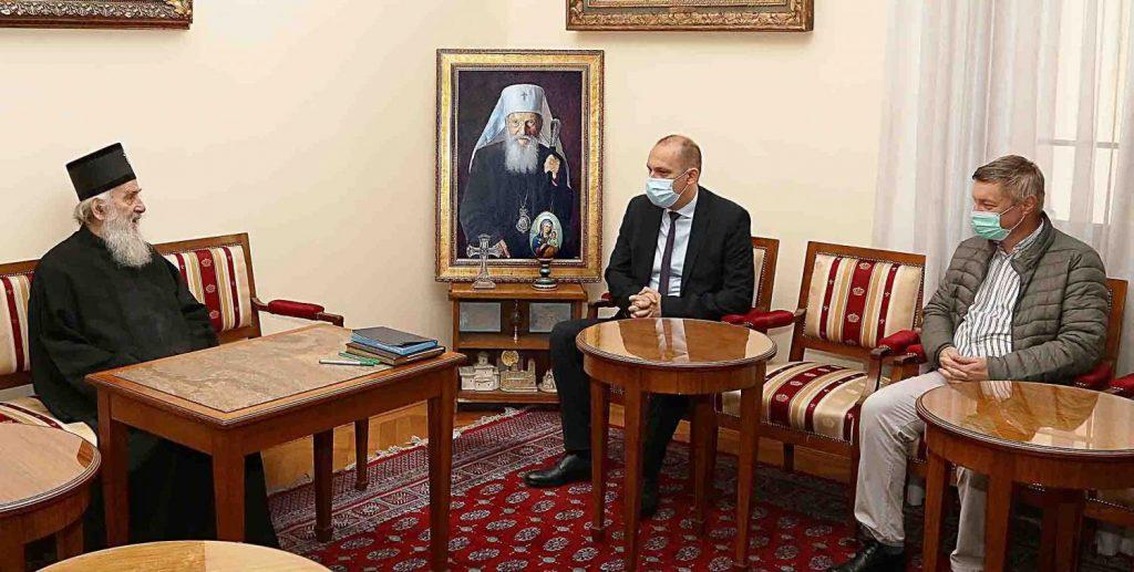 Le patriarche de Serbie et le ministre de la santé ont invité les citoyens à respecter les mesures anti-coronavirus lors des célébrations des fêtes de slava (fête du saint patron de la famille)