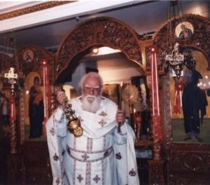 Décès du père André Fyrillas