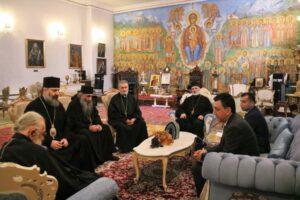Le catholicos-patriarche de Géorgie Élie II a reçu l'ambassadeur d'Azerbaïdjan