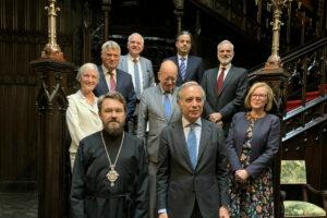 Le métropolite Hilarion a rencontré les ambassadeurs d'Italie, de France, de Grande-Bretagne, de Grèce, du Brésil, de Serbie, de Bulgarie et du Liban