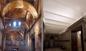Les fresques du monastère de Saint-Sauveur-in-Chora de Constantinople « disparaissent »