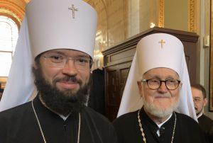 Rencontre de l'exarque patriarcal d'Europe occidentale avec le chef de l'Archevêché des églises de tradition russe en Europe occidentale
