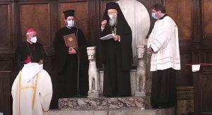 Prière œcuménique pour la paix à Rome en présence du patriarche œcuménique Bartholomée