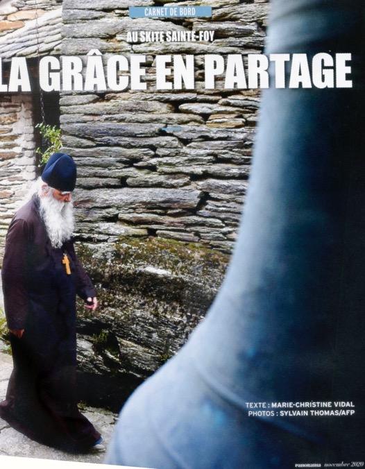 Un reportage sur le skite Sainte-Foy dans le mensuel «Panorama»