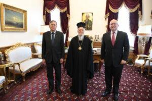 L'ambassadeur des États-Unis Philip Reeker a effectué une visite au Phanar