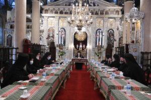 Session du Saint-Synode du Patriarcat œcuménique