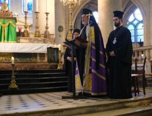 Célébrations des vêpres orthodoxes à Saint-Étienne-du-Mont