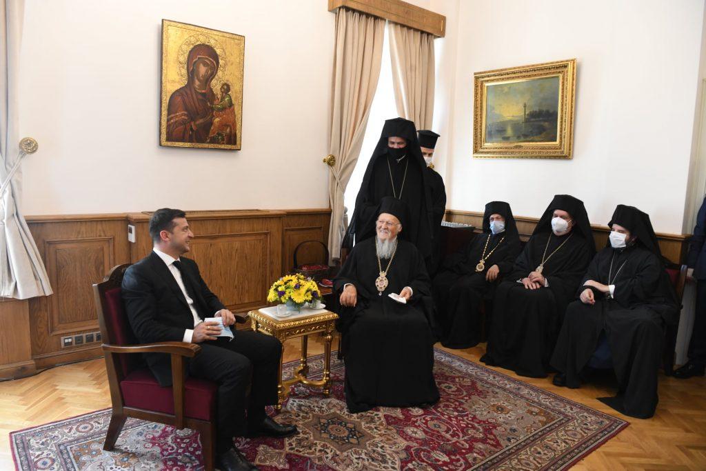 Une visite du président ukrainien Zelensky au Phanar