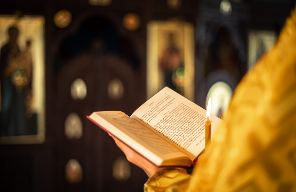 Offices du 23e dimanche après la Pentecôte, lus par les laïcs
