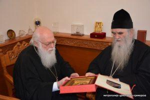 Message de l'archevêque d'Albanie Anastase à l'occasion du décès du métropolite du Monténégro Amphiloque
