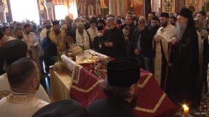 Office des funérailles de Mgr Amphiloque du Monténégro