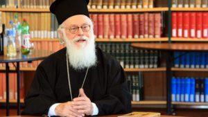 Le primat de l'Église orthodoxe d'Albanie testé positif au Covid-19
