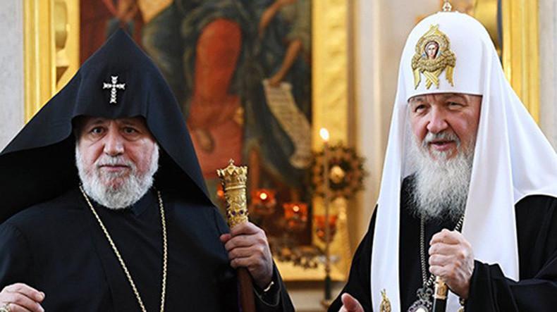 Le primat de l'Église apostolique arménienne remercie le patriarche Cyrille d'avoir répondu à sa demande en intercédant auprès des autorités russes