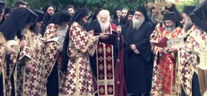 Des vigiles ont été célébrées sur tout le Mont Athos pour la délivrance du coronavirus